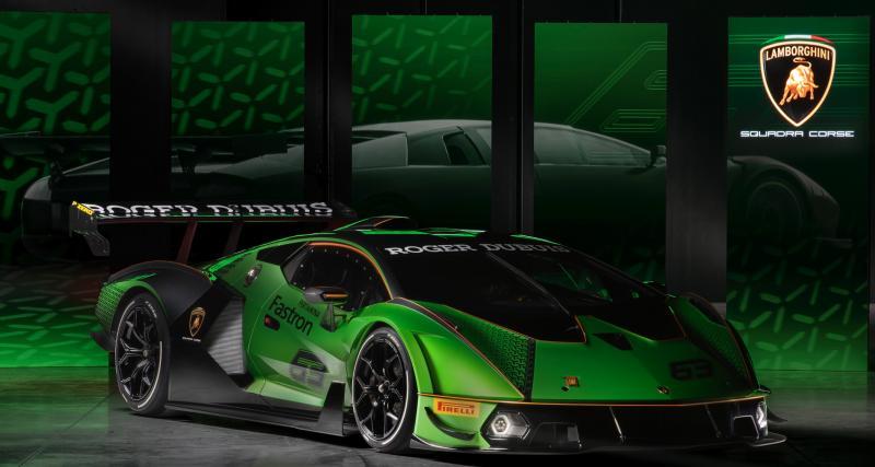 Lamborghini Essenza SCV12 : la version définitive prête à faire fumer ses pneus