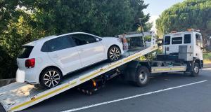 Sur l'autoroute à 184 km/h : un jeune permis conduit une voiture qui ne lui appartient pas