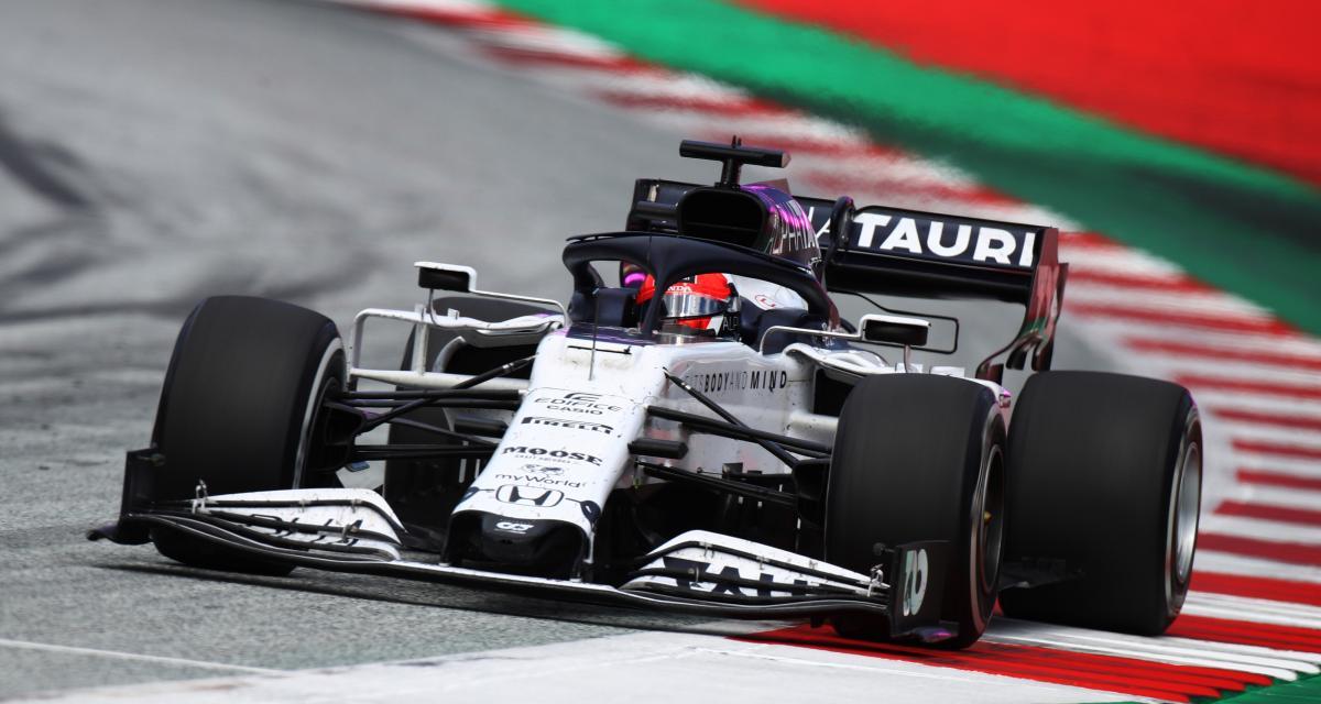 Grand Prix de Grande-Bretagne de F1 : le crash de Kvyat en vidéo