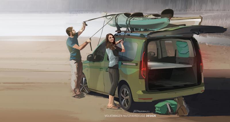 Mini Camper : le camping-car de poche par Volkswagen