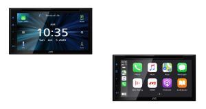Un autoradio DVD avec CarPlay à prix attractif chez JVC