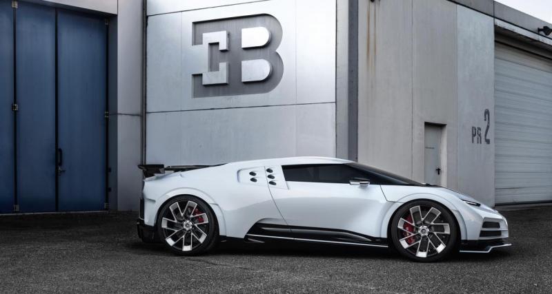 Cristiano Ronaldo : nouveau titre, nouvelle voiture pour CR7, une Bugatti Centodieci !