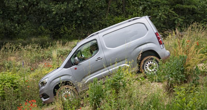 Opel Combo Cargo et Vivaro transmission intégrale : des pros en mode 4x4