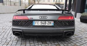 Rodéo urbain en Audi R8 : il finit par frapper un policier et finit en garde à vue