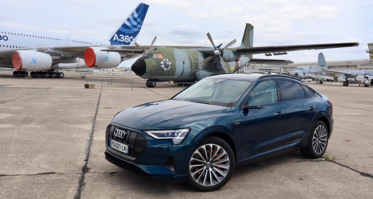 Audi e-tron Sportback : les images de notre essai du SUV coupé électrique
