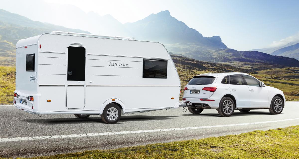 Nouvelle caravane Turiano: l'élégante reprend la route