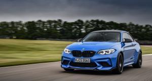 BMW M2 CS : nouvelles photos dynamiques de la bombinette allemande