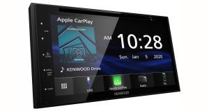Kenwood-Electronics dévoile un nouvel autoradio CarPlay et Android Auto