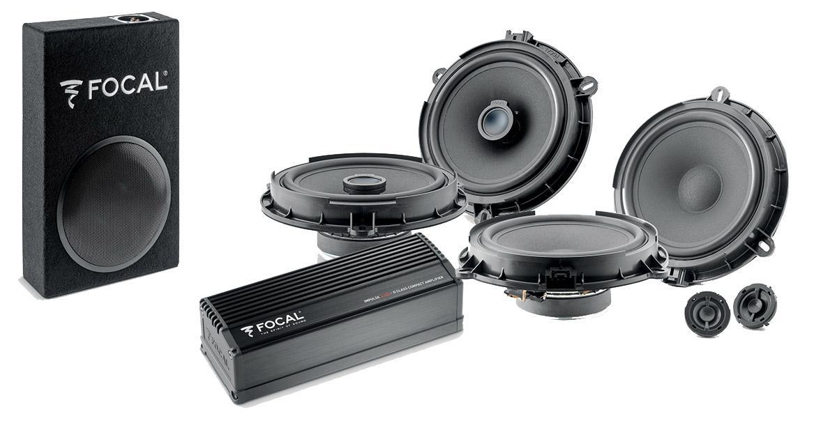 Focal commercialise un pack hi-fi complet pour la Ford Fiesta