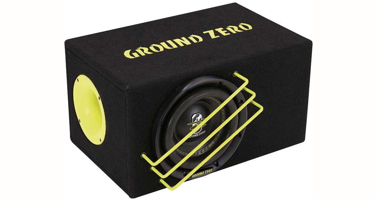 Ground Zero commercialise un nouveau caisson de grave puissant