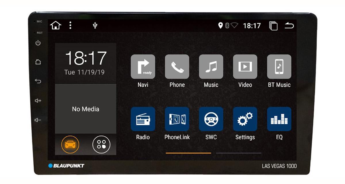 Blaupunkt commercialise un nouvel autoradio 9 pouces avec PhoneLink