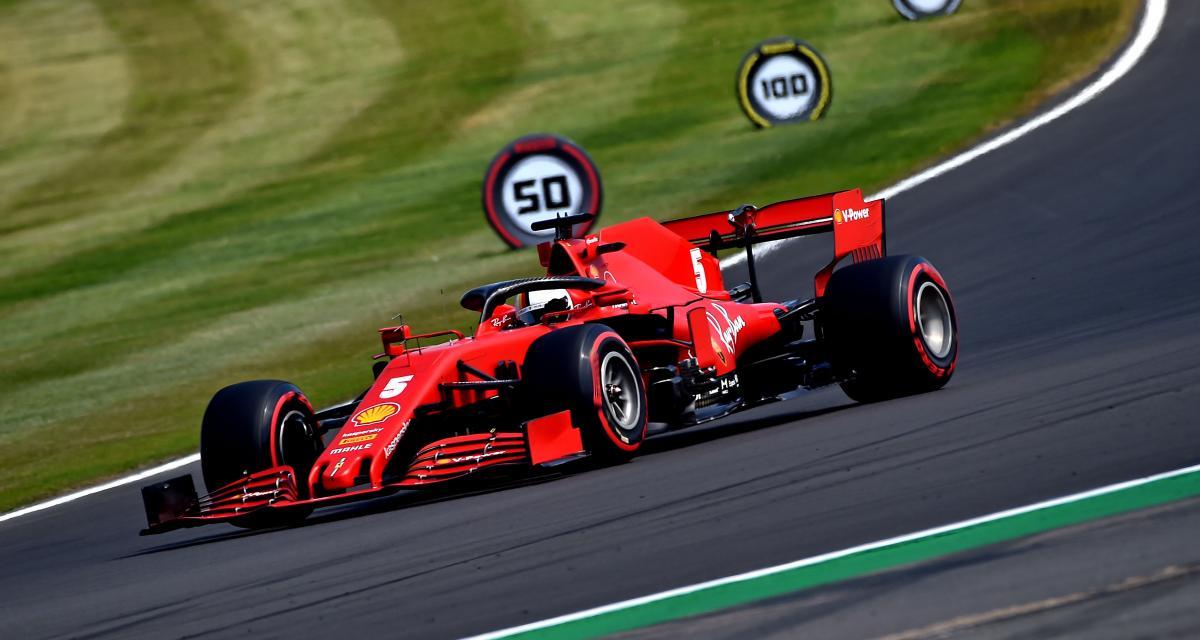 F1 - Grand Prix du 70e anniversaire : le départ manqué de Vettel en vidéo