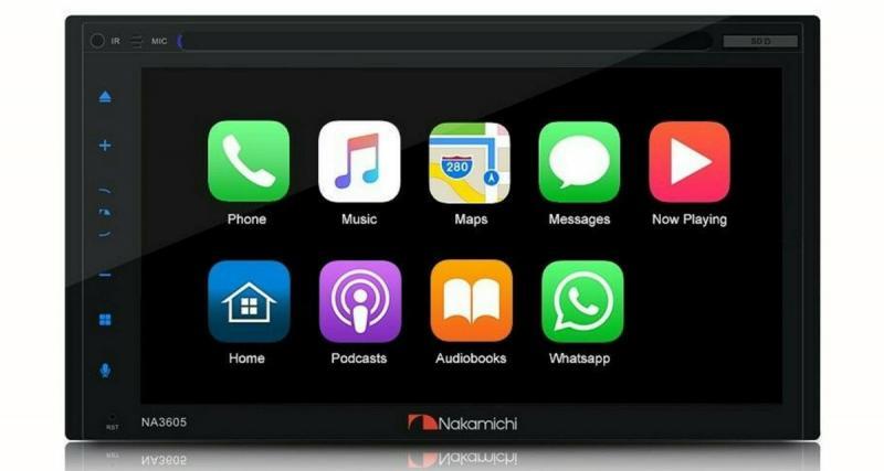 Nakamichi commercialise un autoradio CarPlay et Android Auto
