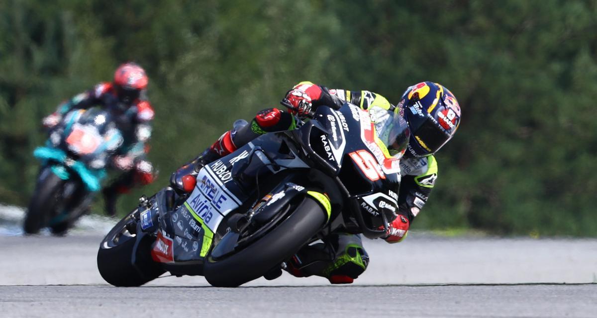 MotoGP - Grand Prix d'Autriche : le spectaculaire accrochage Zarco - Morbidelli en vidéo