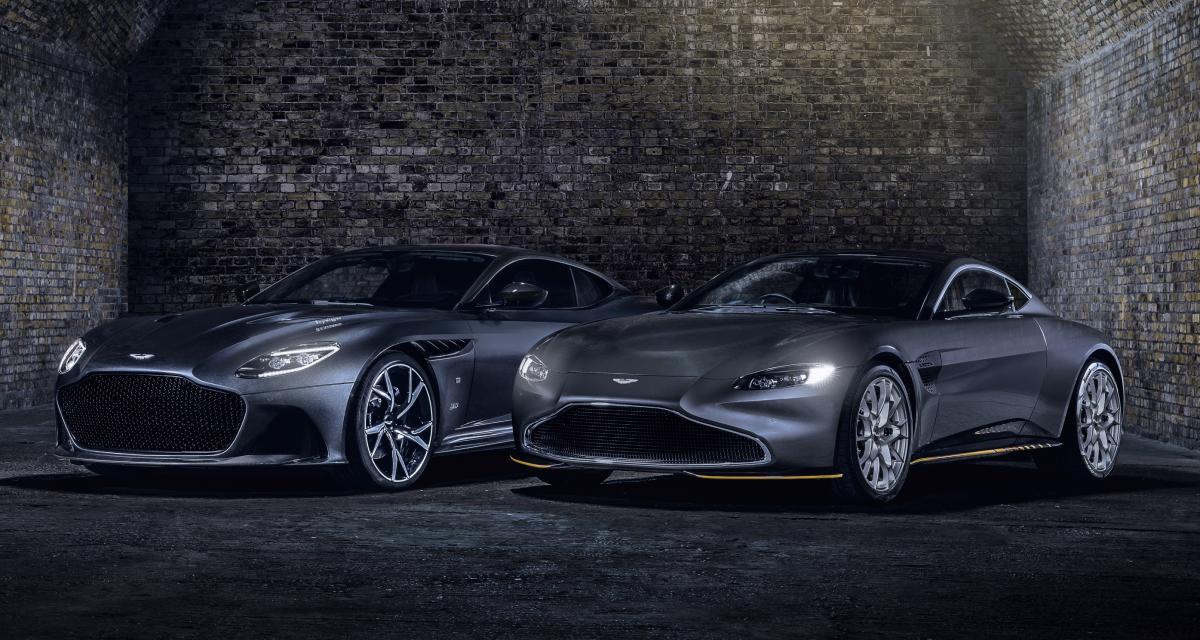 Aston Martin Vantage et DBS Superleggera 007 Edition : Q fête le 25ème James Bond