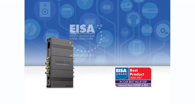 Ground Zero remporte un trophée à l'EISA 2020-2021 pour son processeur DSP