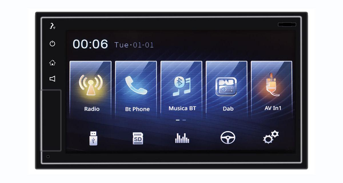 Un autoradio avec CarPlay wireless chez Phonocar