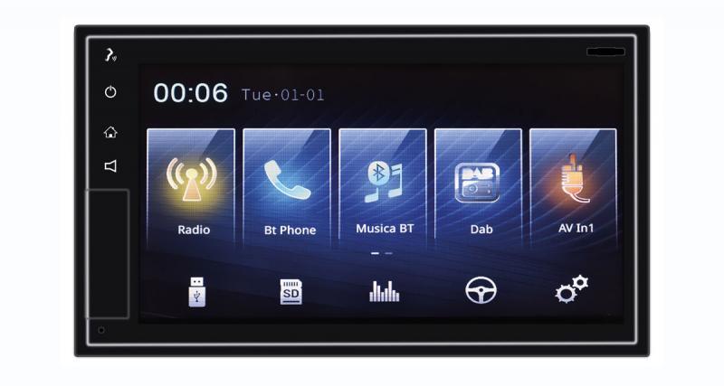 Un autoradio avec CarPlay wireless chez Phonocar