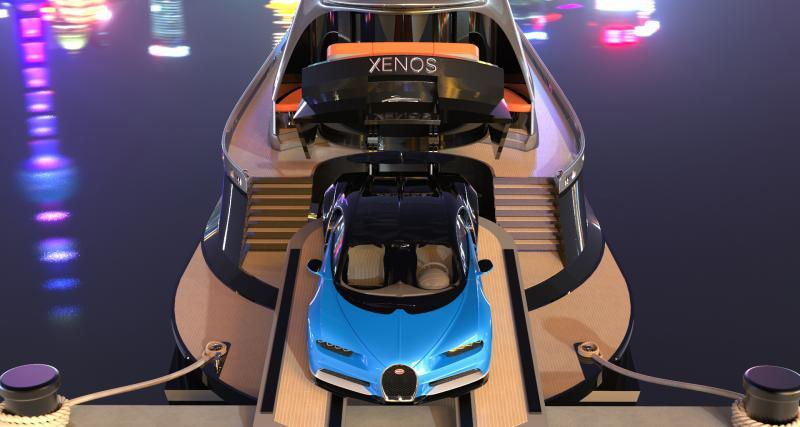 Soldes 2020 : une Bugatti Chiron offerte pour tout achat d'un hyperyacht Xenos !