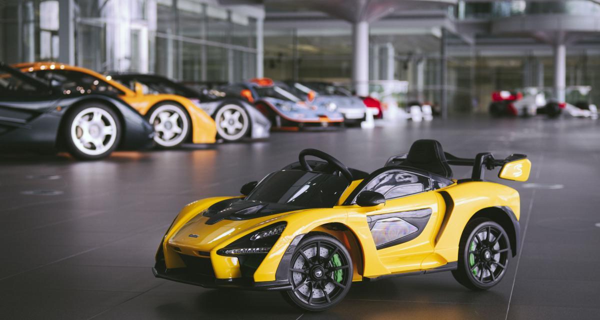 McLaren Senna 'Ride-On' : on a dit que pour les petits !