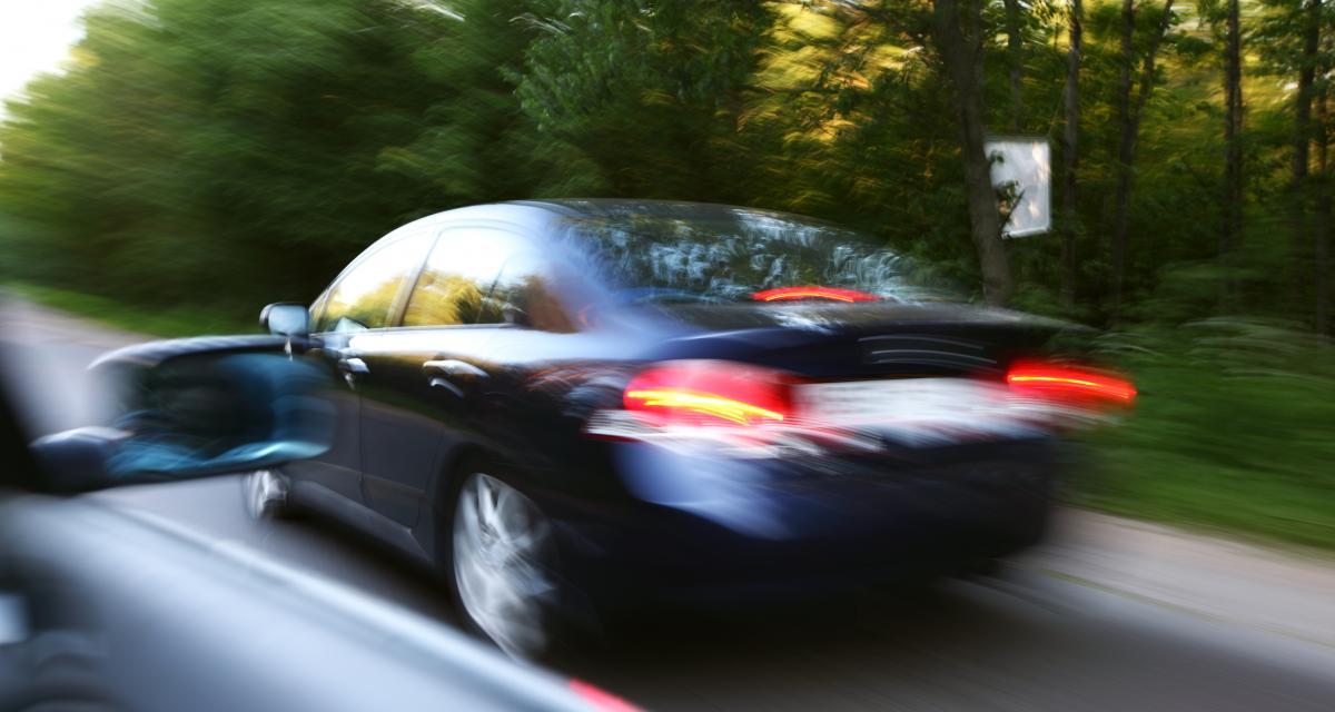 7 jours de suspension de permis après une pointe à 156 km/h