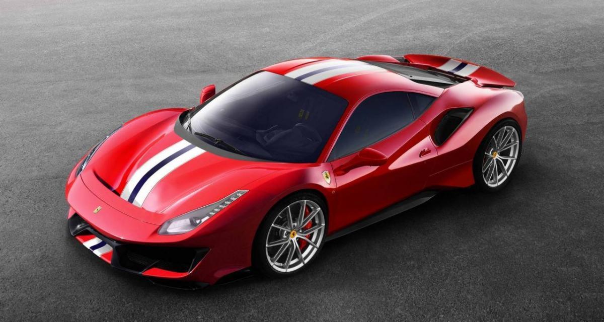 Karim Benzema s'offre une Ferrari Pista de 720 chevaux