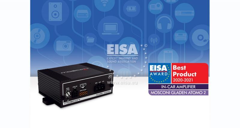 Mosconi remporte le prix de l'ampli de l'année à l'EISA 2020-2021