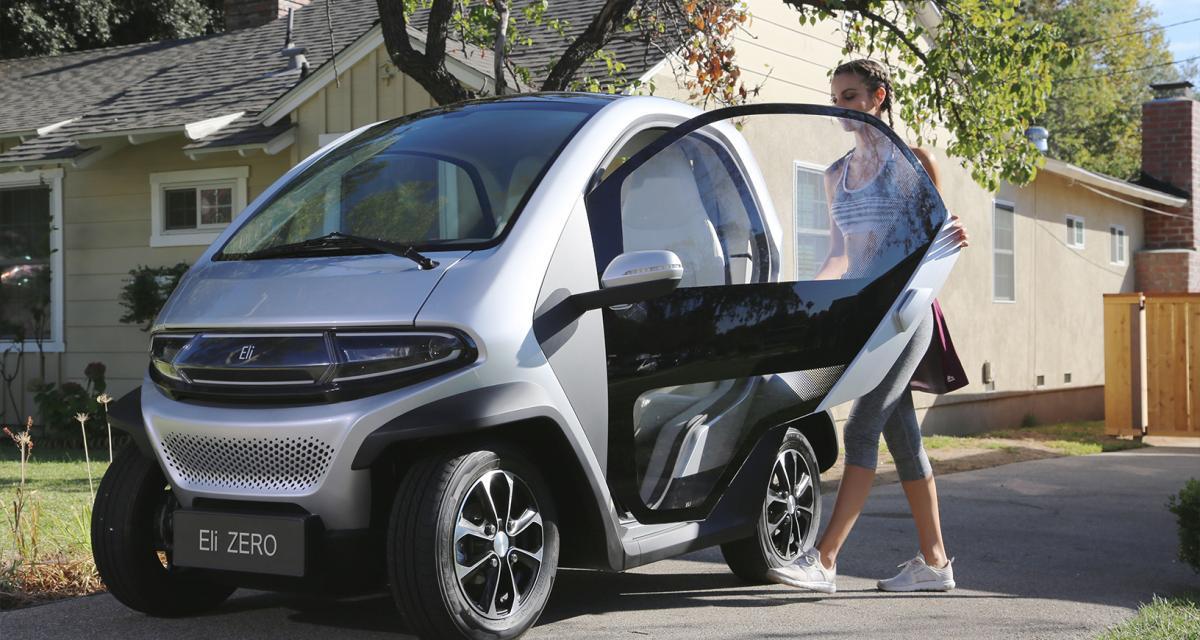 Eli Zero : un véhicule citadin chinois entre la Renault Twizy et la Citroën AMI