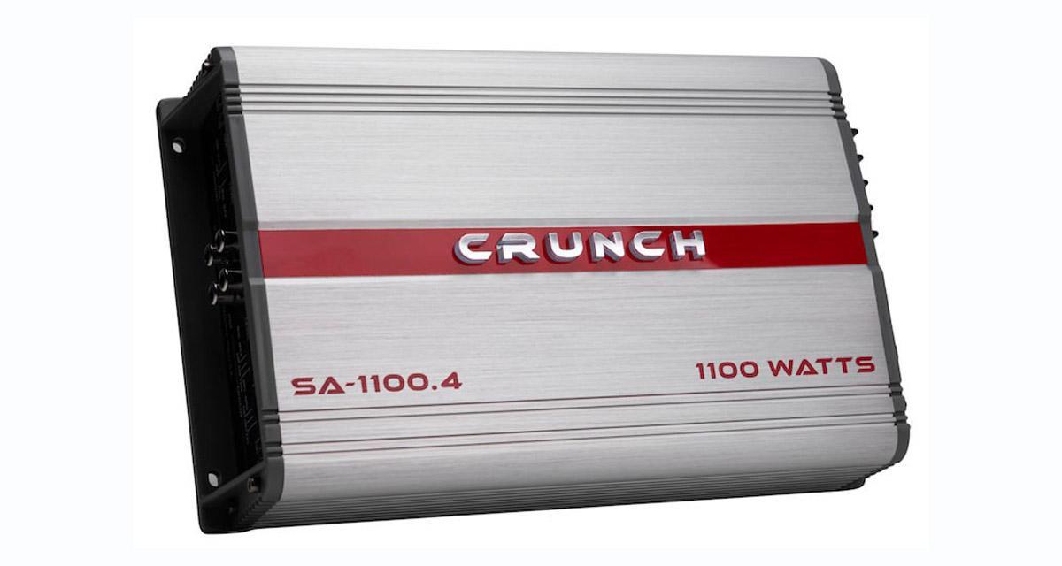 Crunch commercialise une nouvelle gamme d'amplis à prix très attractif