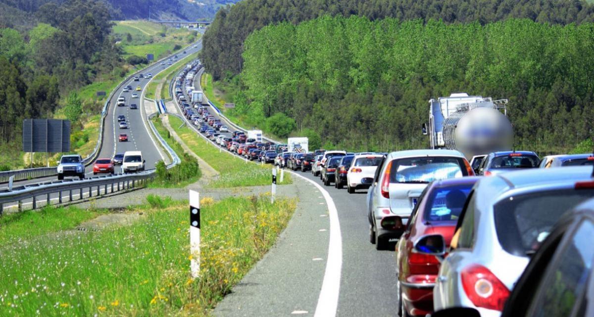Prévisions de circulation : un samedi classé Rouge dans le sens des retours