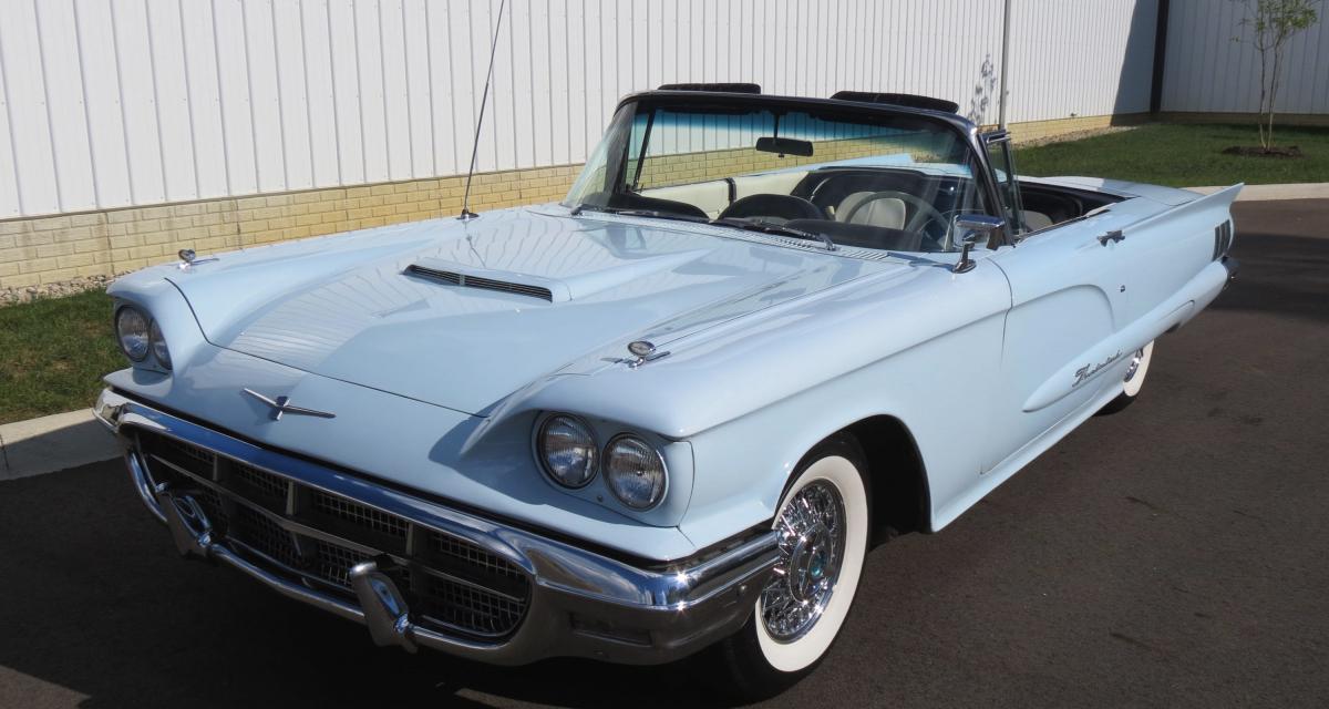 Ford Thunderbird de deuxième génération (1958-1960) : la T-Bird se mue en quatre places