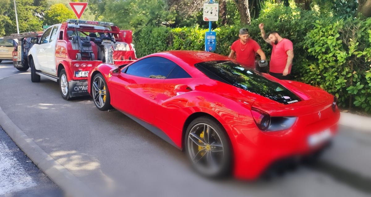 À 262 km/h en Ferrari en ville : le récidiviste finit en prison