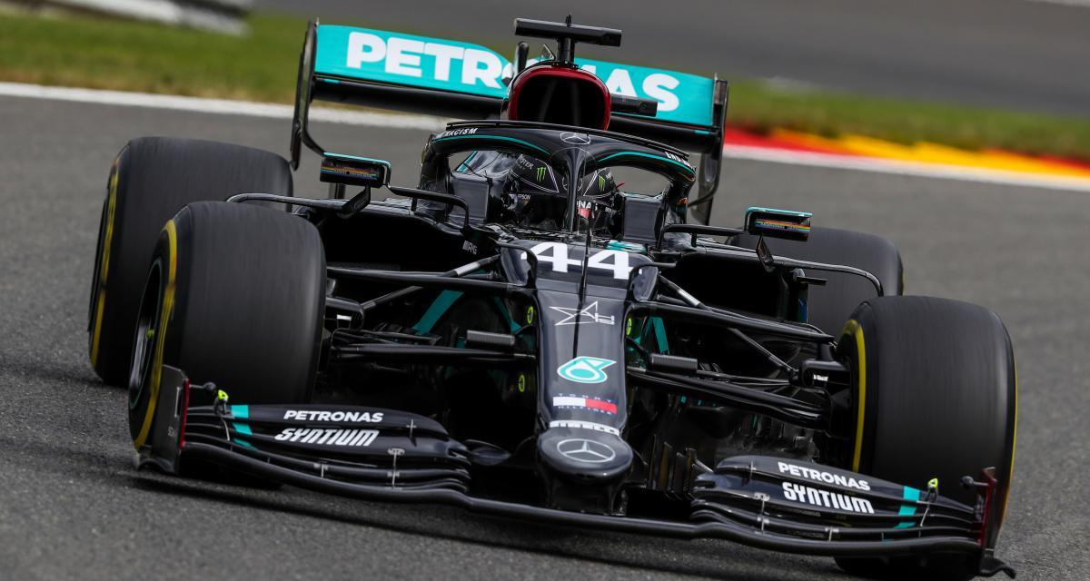 Grand Prix de Belgique de F1 : la grille de départ