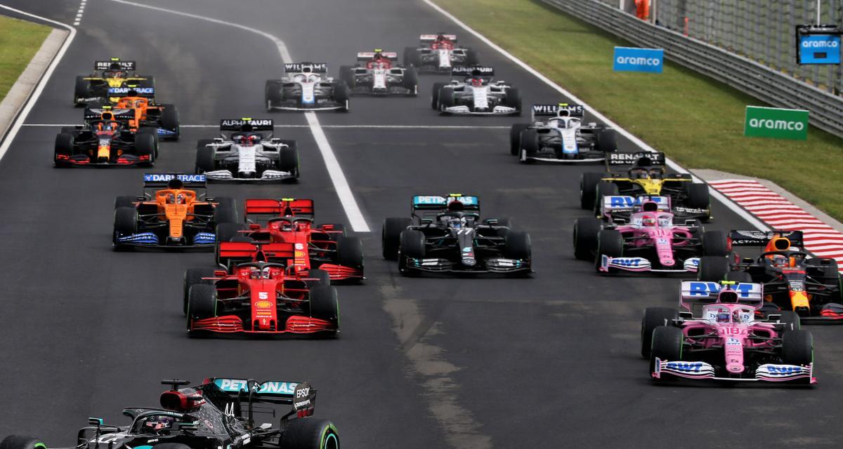 Grand Prix de Belgique : le départ en vidéo