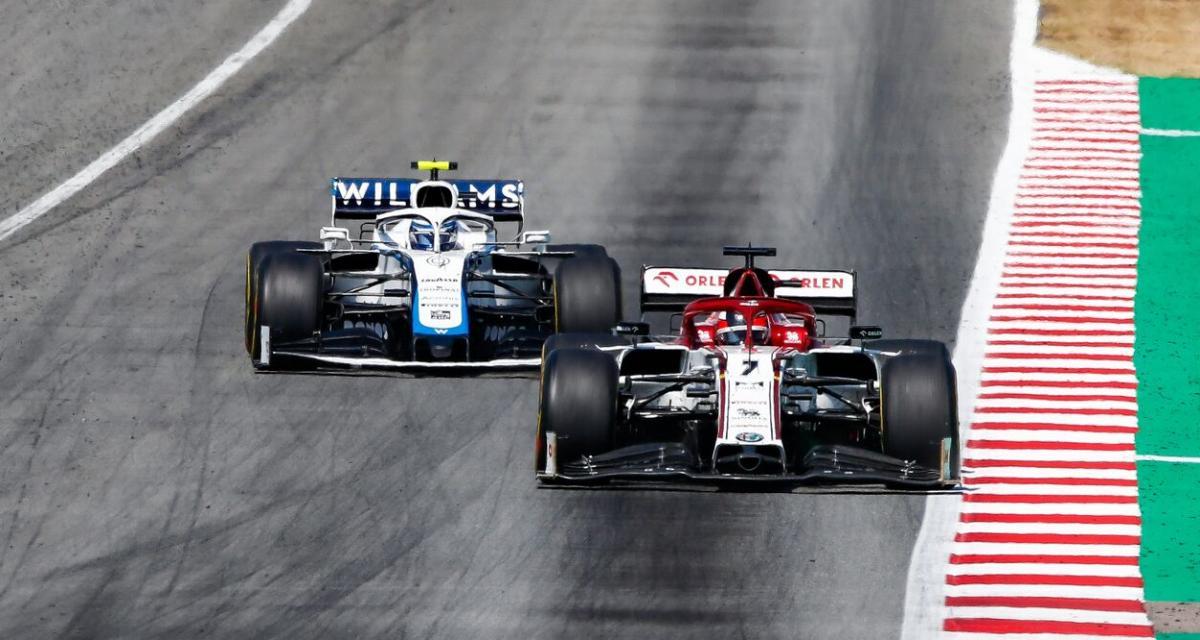 Grand Prix de Belgique : les crashs de Giovinazzi et Russell en vidéo