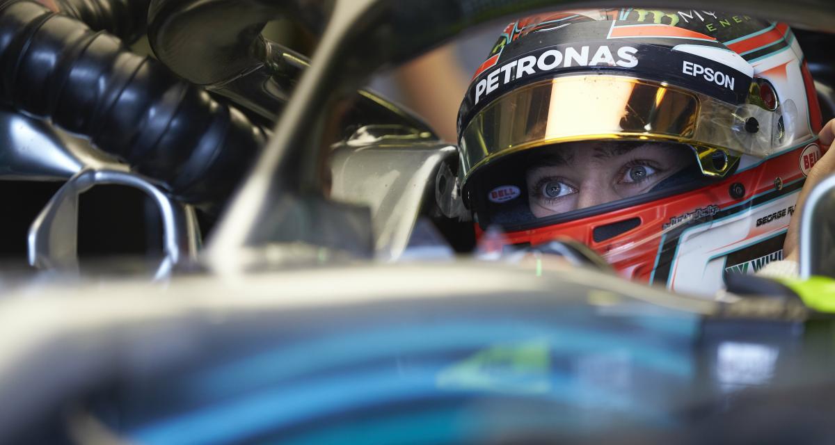 Grand Prix de Belgique : la réaction de Russell après son crash en vidéo