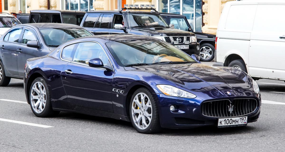 Il trace à 216 km/h en Maserati : permis sucré, voiture saisie et grosse amende