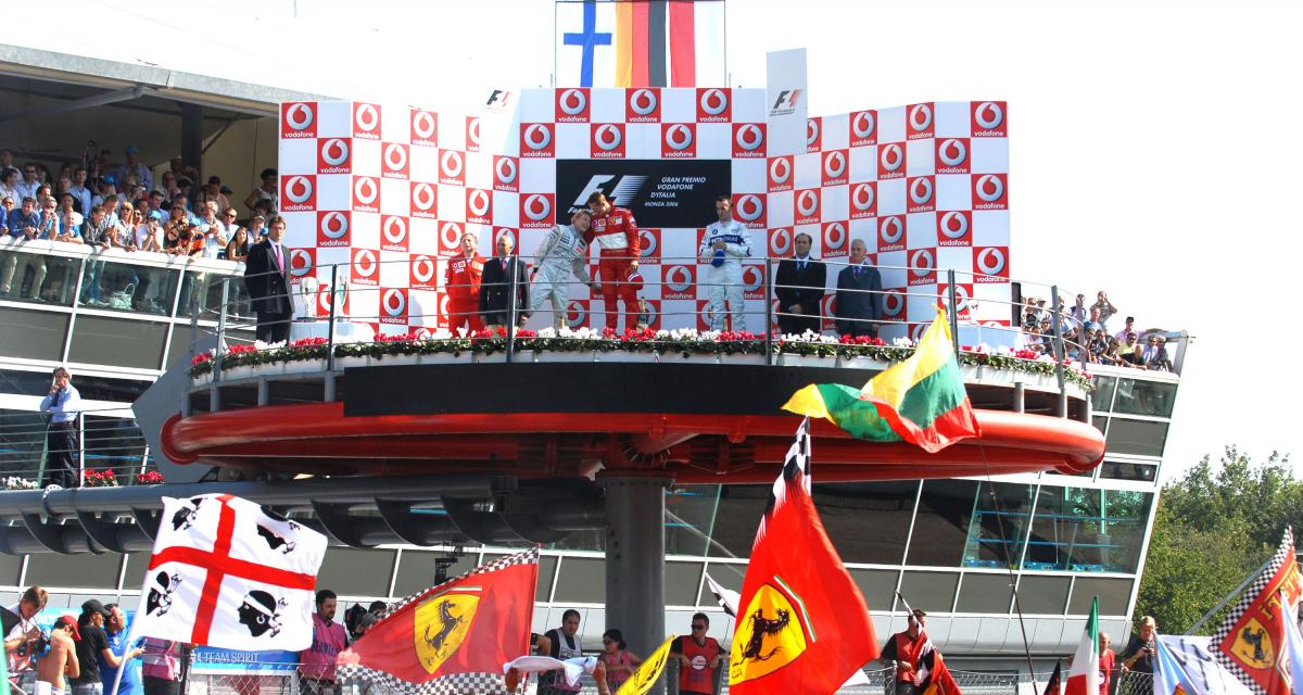 Grand Prix d'Italie de F1 : le palmarès complet