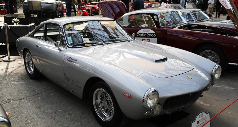 Tour Auto 2020 - Ferrari 250 GT Lusso : nos photos du coupé au Grand Palais