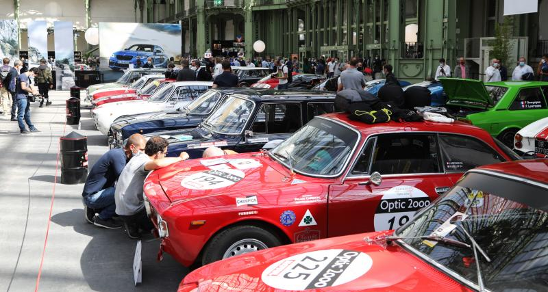Alfa Romeo Giulia : nos photos des belles italiennes au Grand Palais
