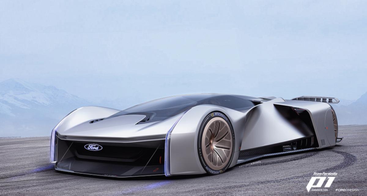 La Team Fordzilla P1 : la voiture de course virtuelle ultime ?