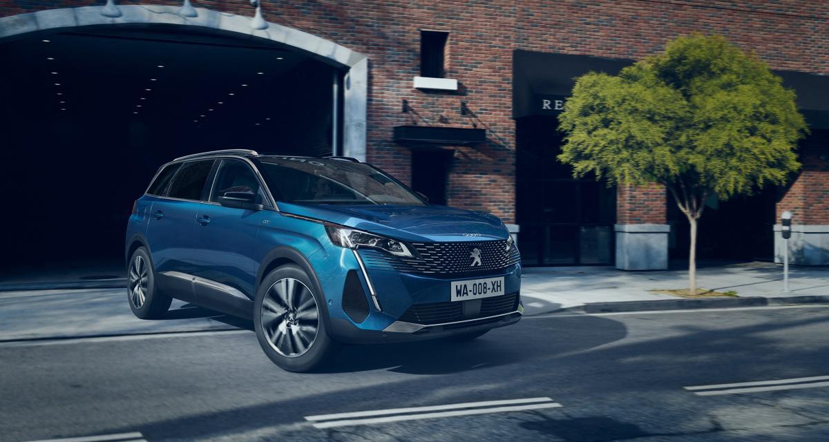 Peugeot 5008 restylé (2021) : petite cure de jouvence pour le grand SUV sept places