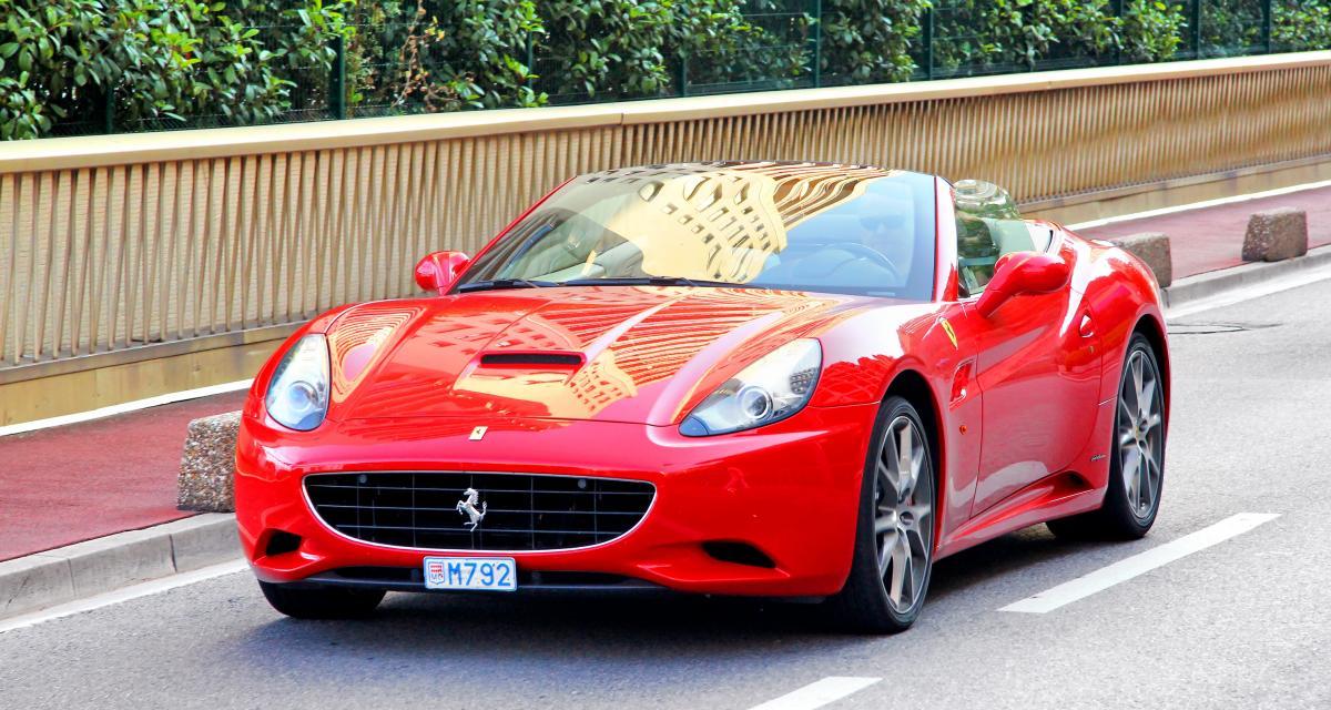Un retraité de 64 ans se fait flasher à 196 km/h : sa Ferrari California termine en fourrière !