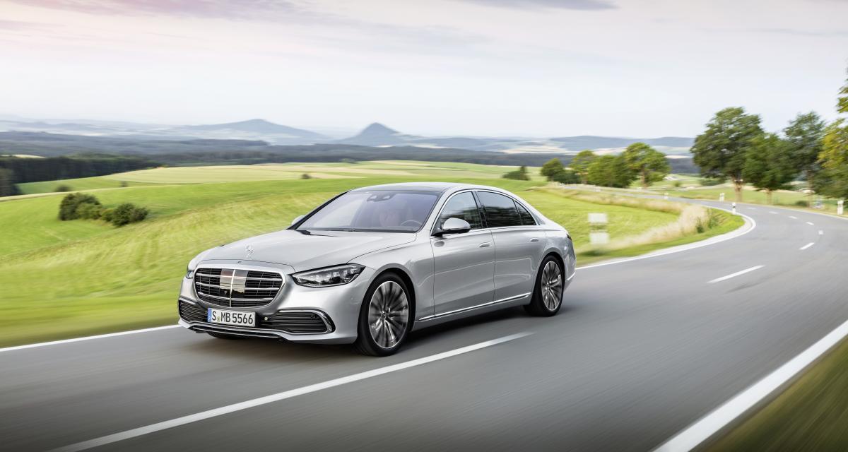 Mercedes Classe S (2021) : le plein de technologies pour la nouvelle grande berline de luxe