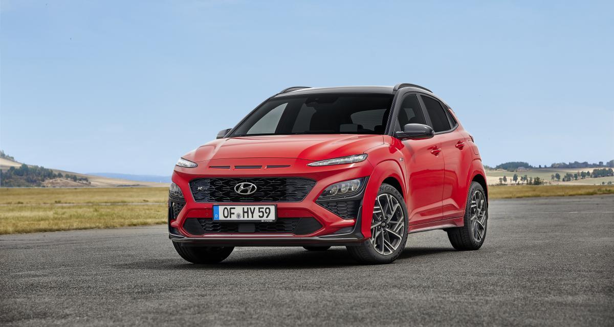 Hyundai Kona restylé : plus long, une micro-hybridation et une finition N Line