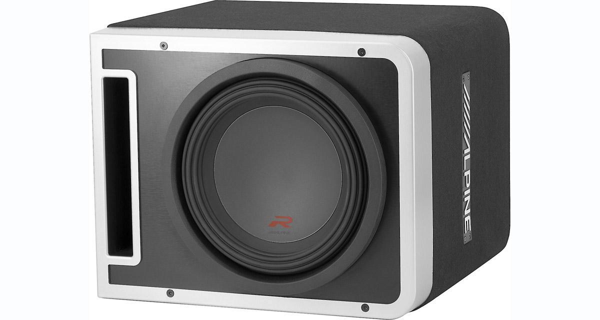 Alpine-Electronics présente une nouvelle gamme de caissons de grave aux USA