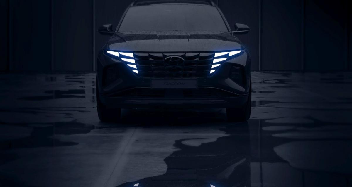 Hyundai Tucson (2021) : un look ultra-futuriste pour le nouveau SUV coréen