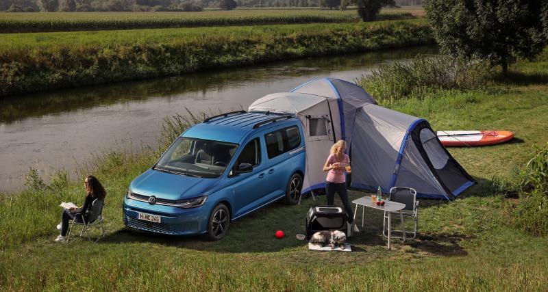 Nouveau Volkswagen Caddy California : la boîte à outils des camping-cars