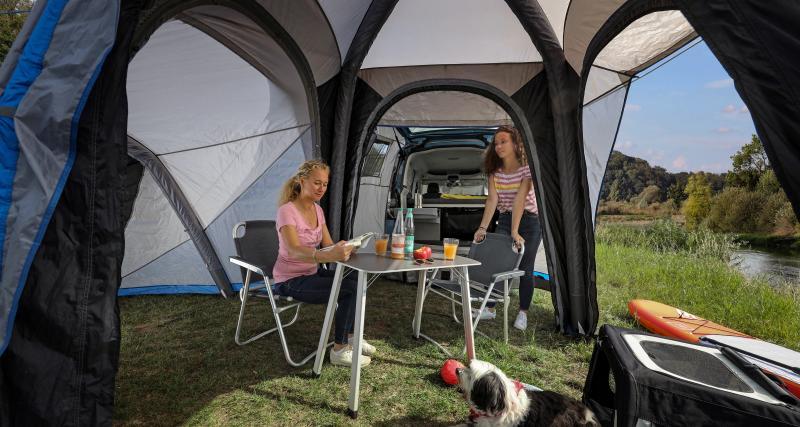 Une tente en renfort