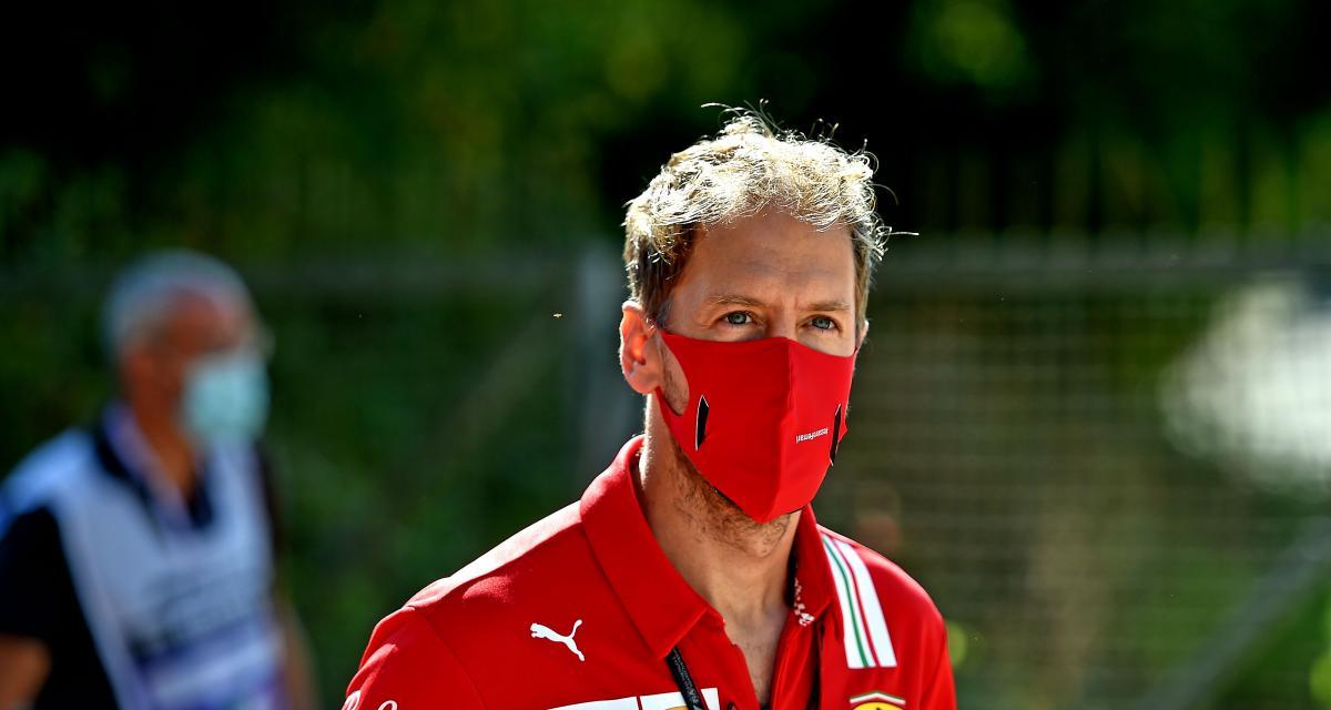 Grand Prix d'Italie de F1 : la réaction de Vettel après son abandon